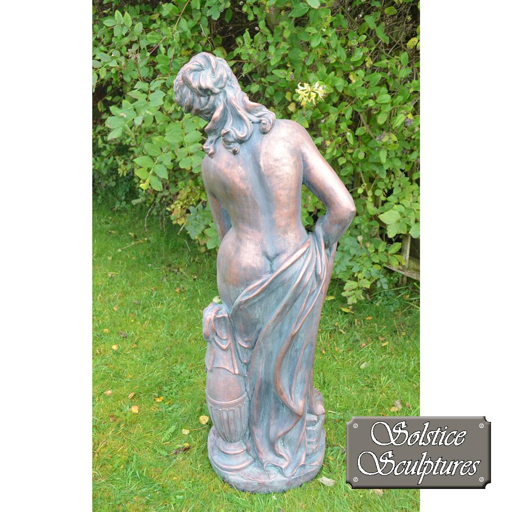 Rachael garden statue rear view