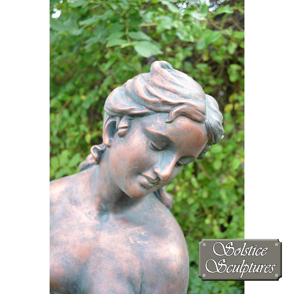Rachael garden statue close up