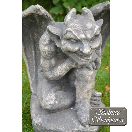 Raymond gargoyle statue close-up