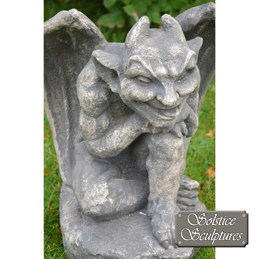 Raymond gargoyle statue close-up