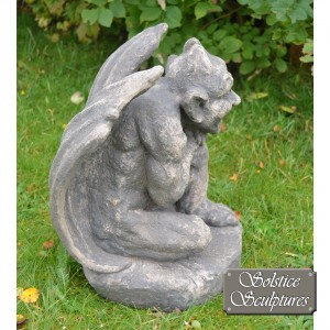 Raymond gargoyle statue right hand side