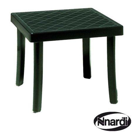 Rodi Side Table in Green Resin