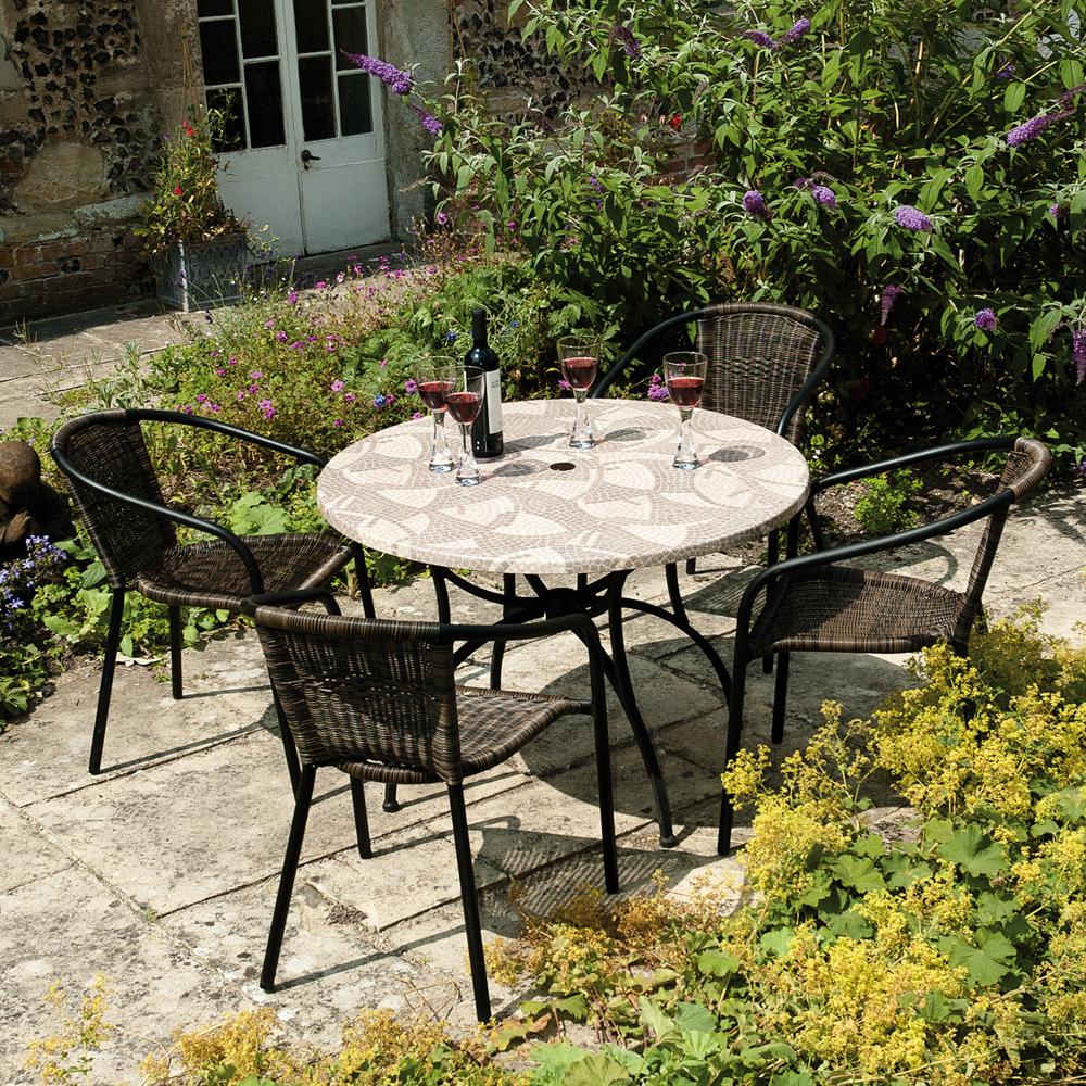 Romano Patio table set