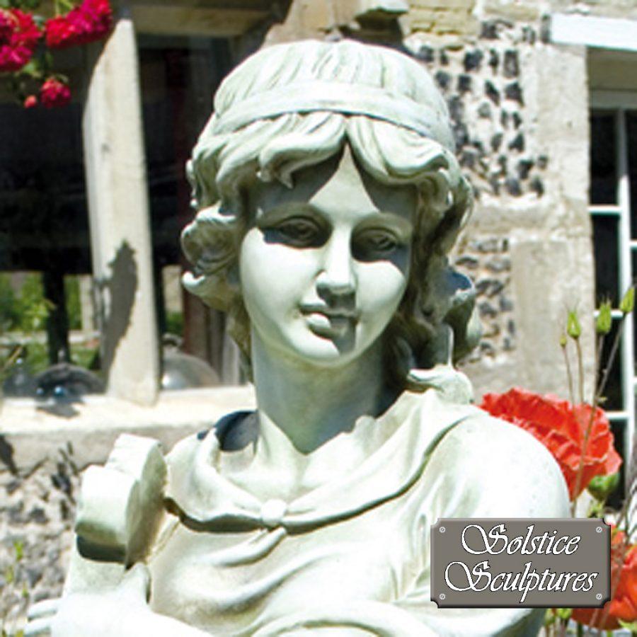 Rose Statue close up