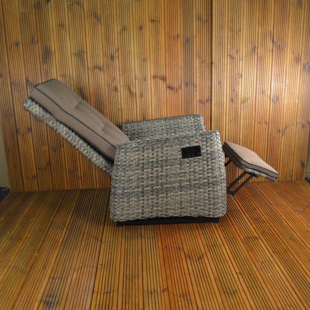 Rufford Chair fully reclined