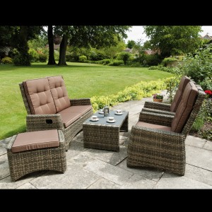 Rufford Sofa Set all seats upright