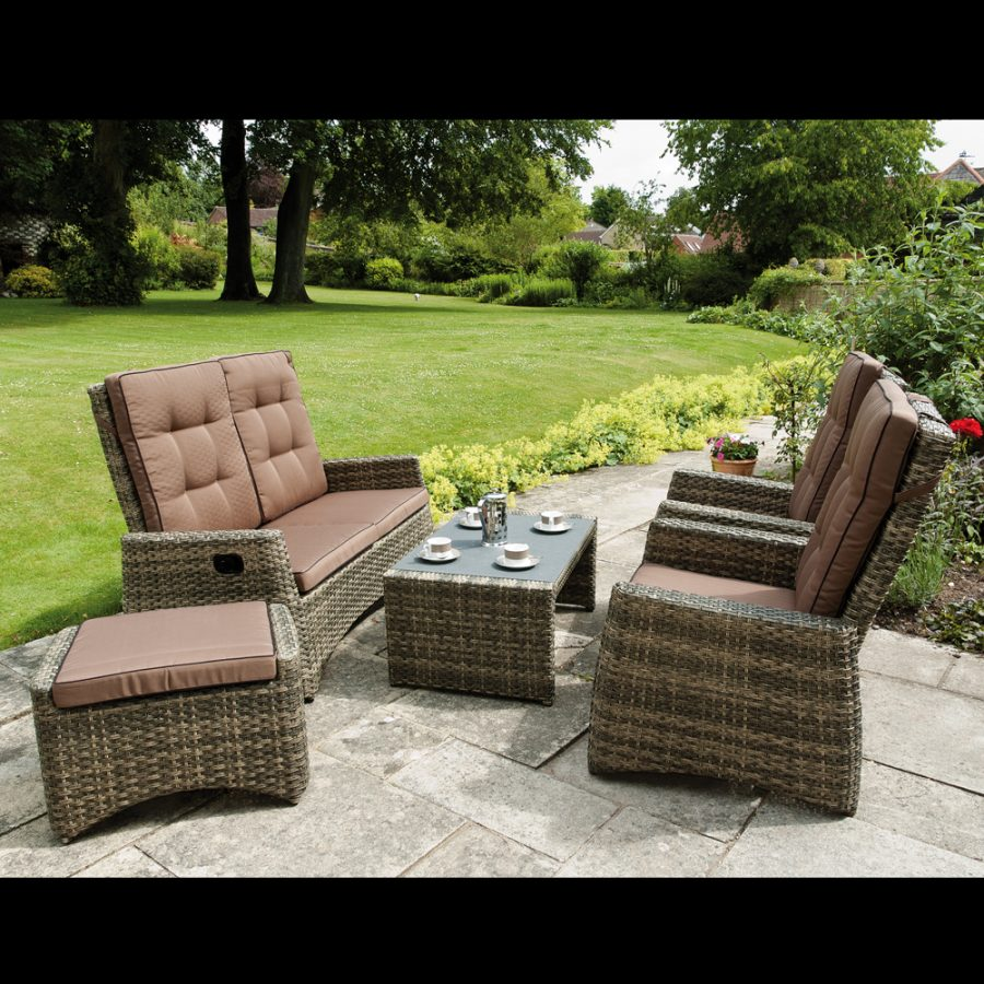 Rufford Sofa Set all seats upright