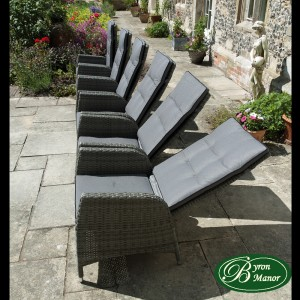 Tilbury chairs reclined