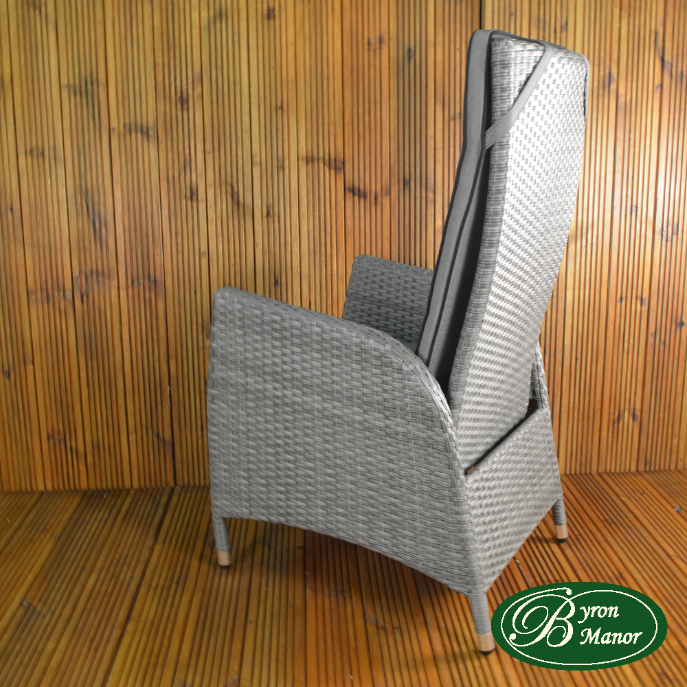 Tilbury chair side view from rear
