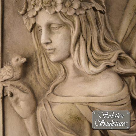 Tita Fairy wall plaque close up