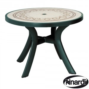 Toscana 100 table with revenna top