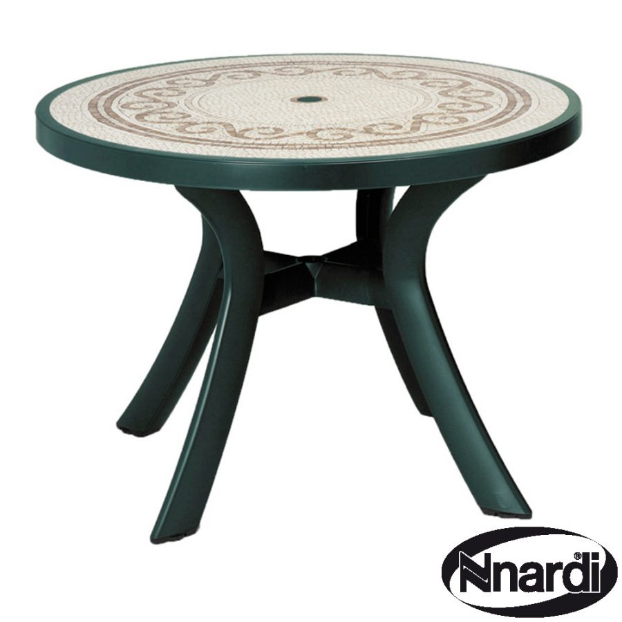 Toscana 100 table with revenna top