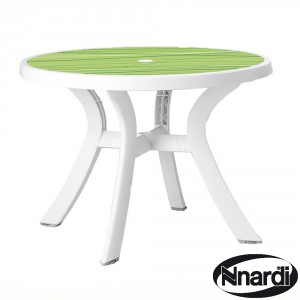Toscana 100 table White & Lime