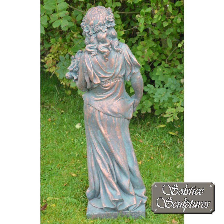 Valerie Garden Statue rear view