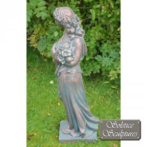 Valerie Garden Statue left hand side view