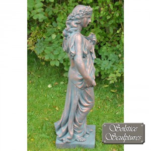 Valerie Garden Statue right hand side view