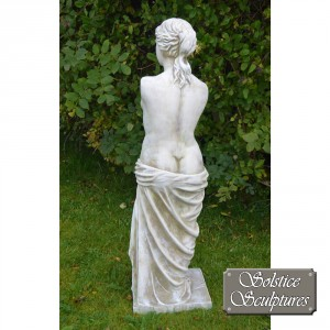 Venus is the Roman goddess rear view