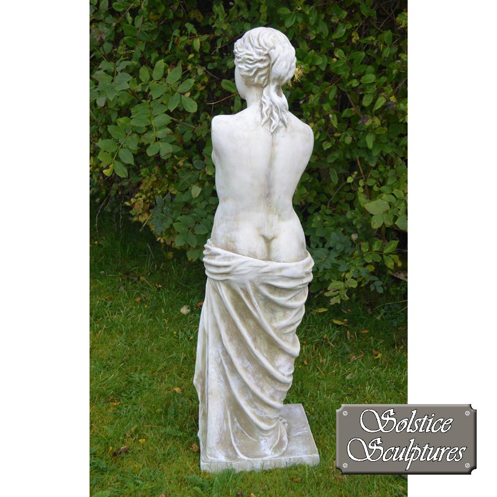 Venus is the Roman goddess rear view
