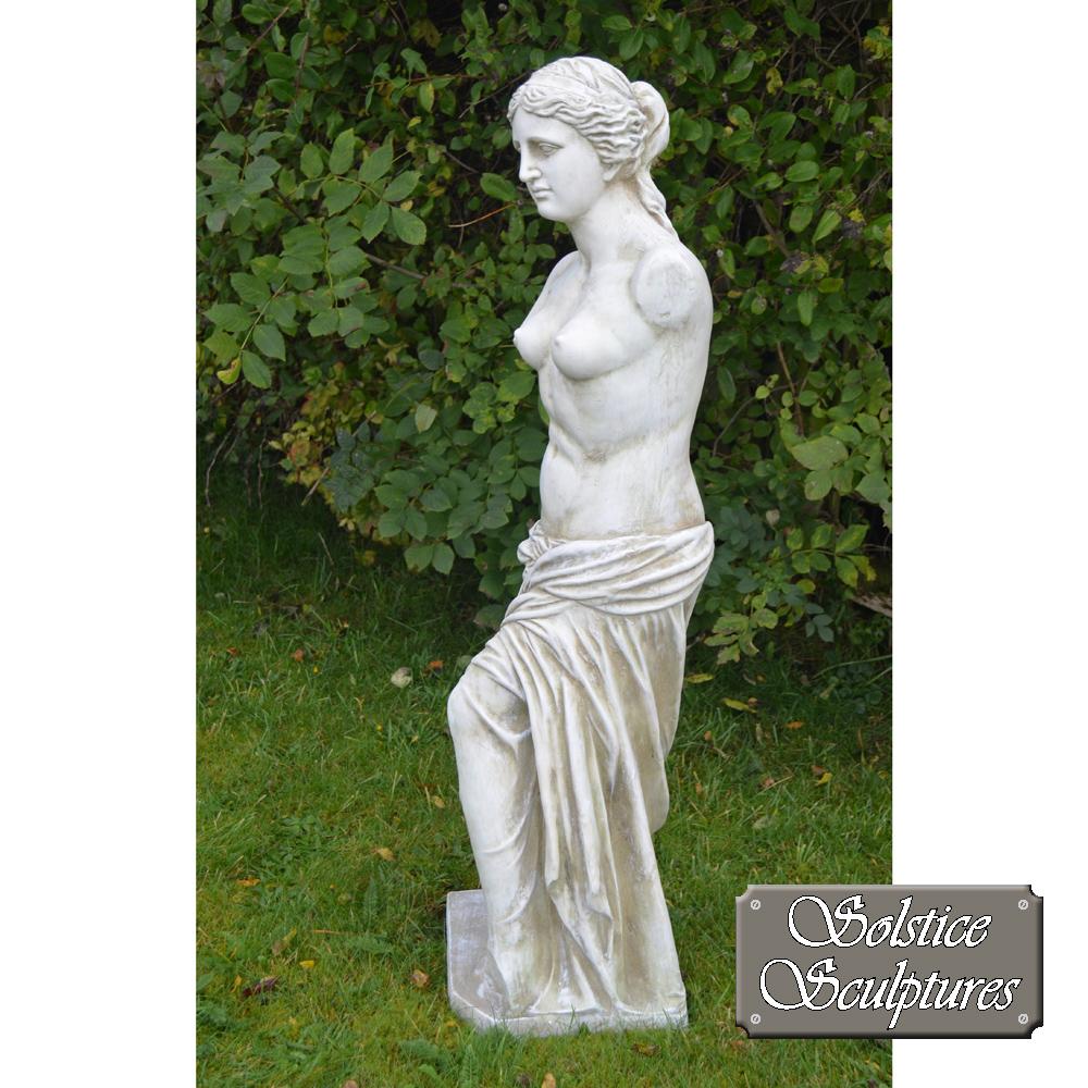Venus is the Roman goddess Left hand side view