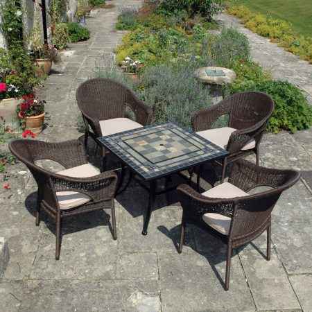 Miranda Firepit (with lin on)with Woburn chairs
