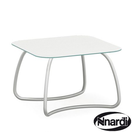 Loto table in white