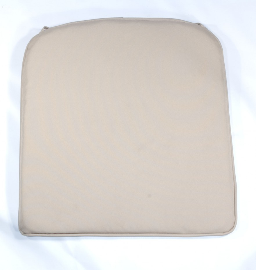 Reno Pad Beige Showerproof Chair Cushion