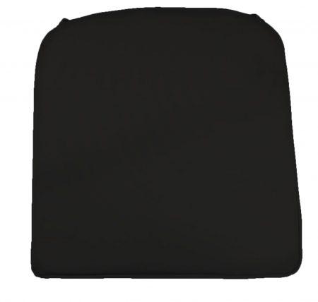 Reno Pad Black Showerproof Seat Cushion