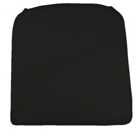 Reno Pad Black Showerproof Seat Cushion