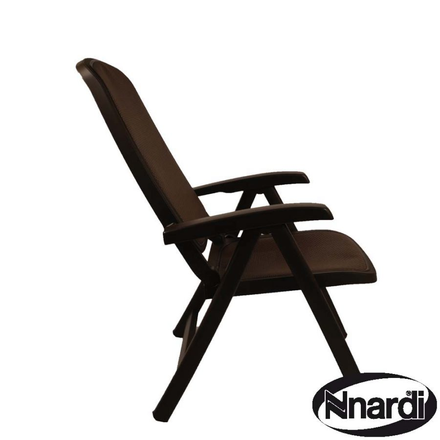 Delta Chair Coffee reclined