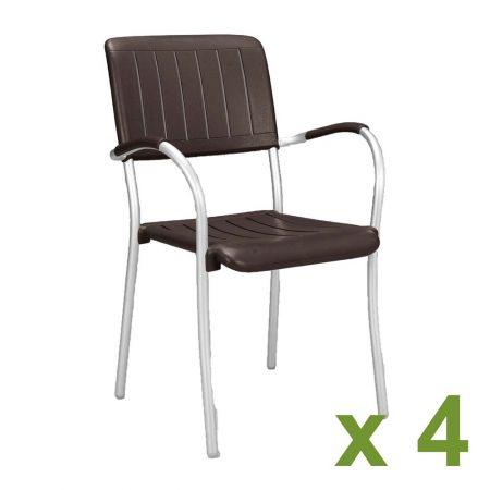 Musa chair Coffee