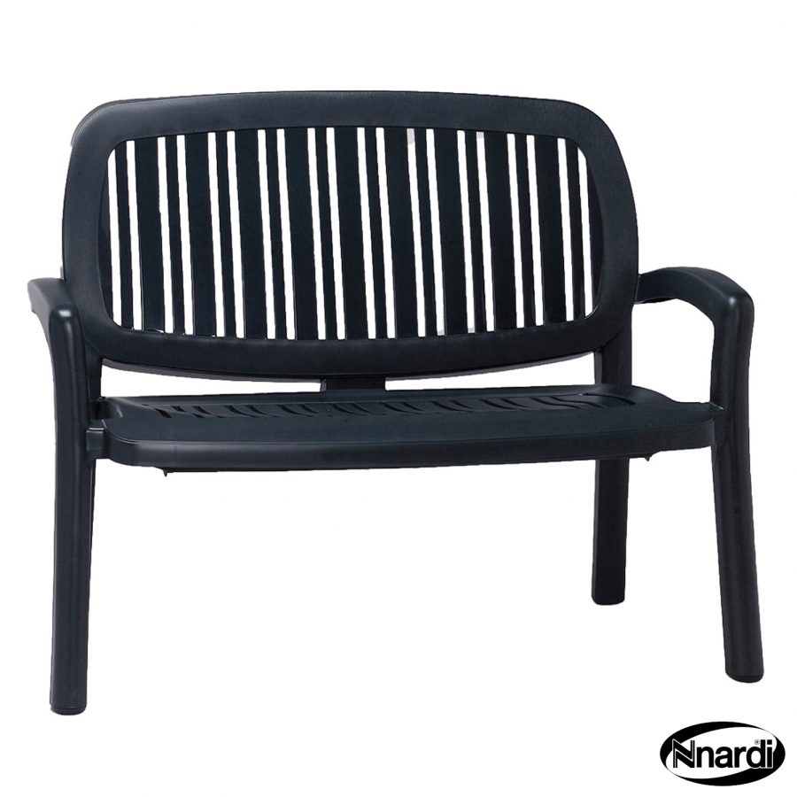 Lipari bench in Anthracite