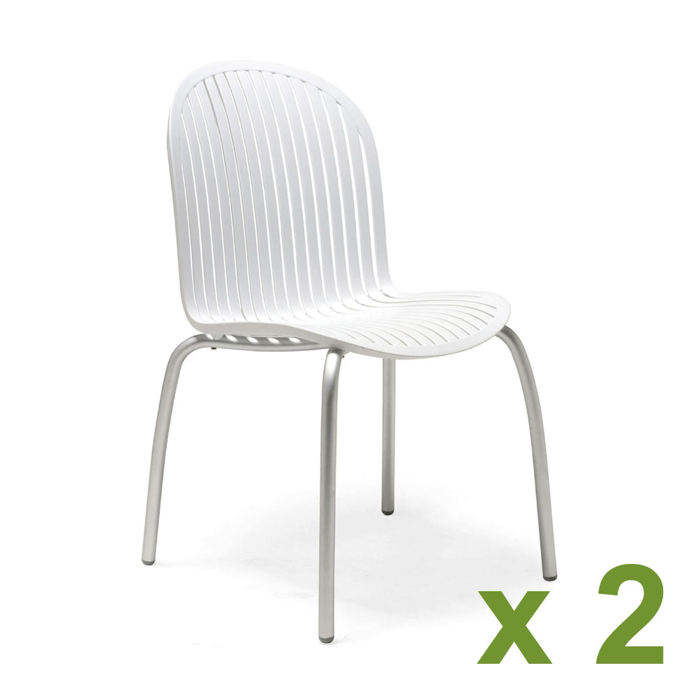 Ninfea chair in white