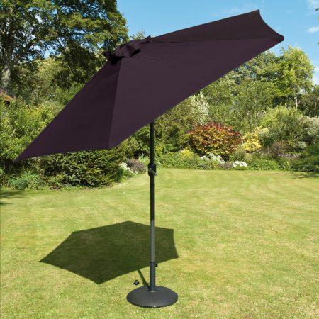 Black Garden Parasol