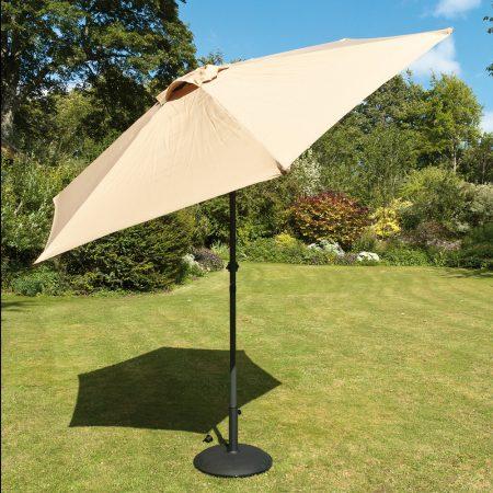 Beige Garden Parasol