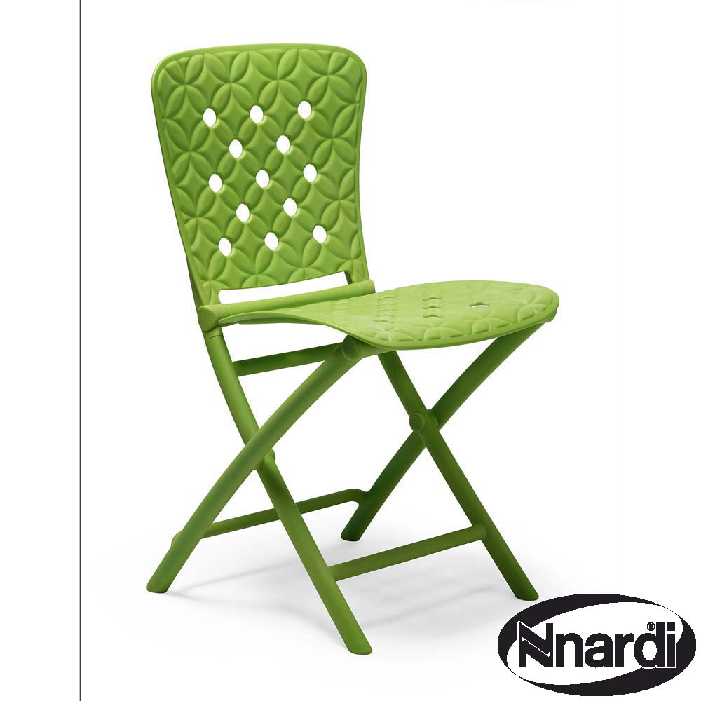 chair in lime with spring design greenfern garden furniture