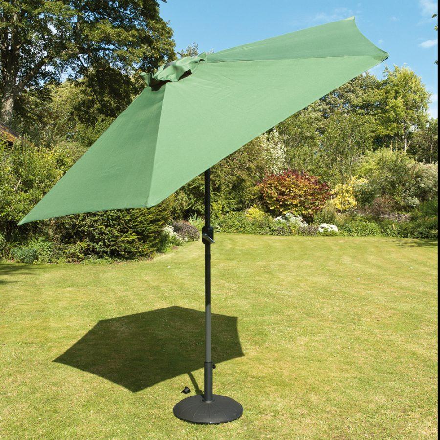 Green Garden Parasol