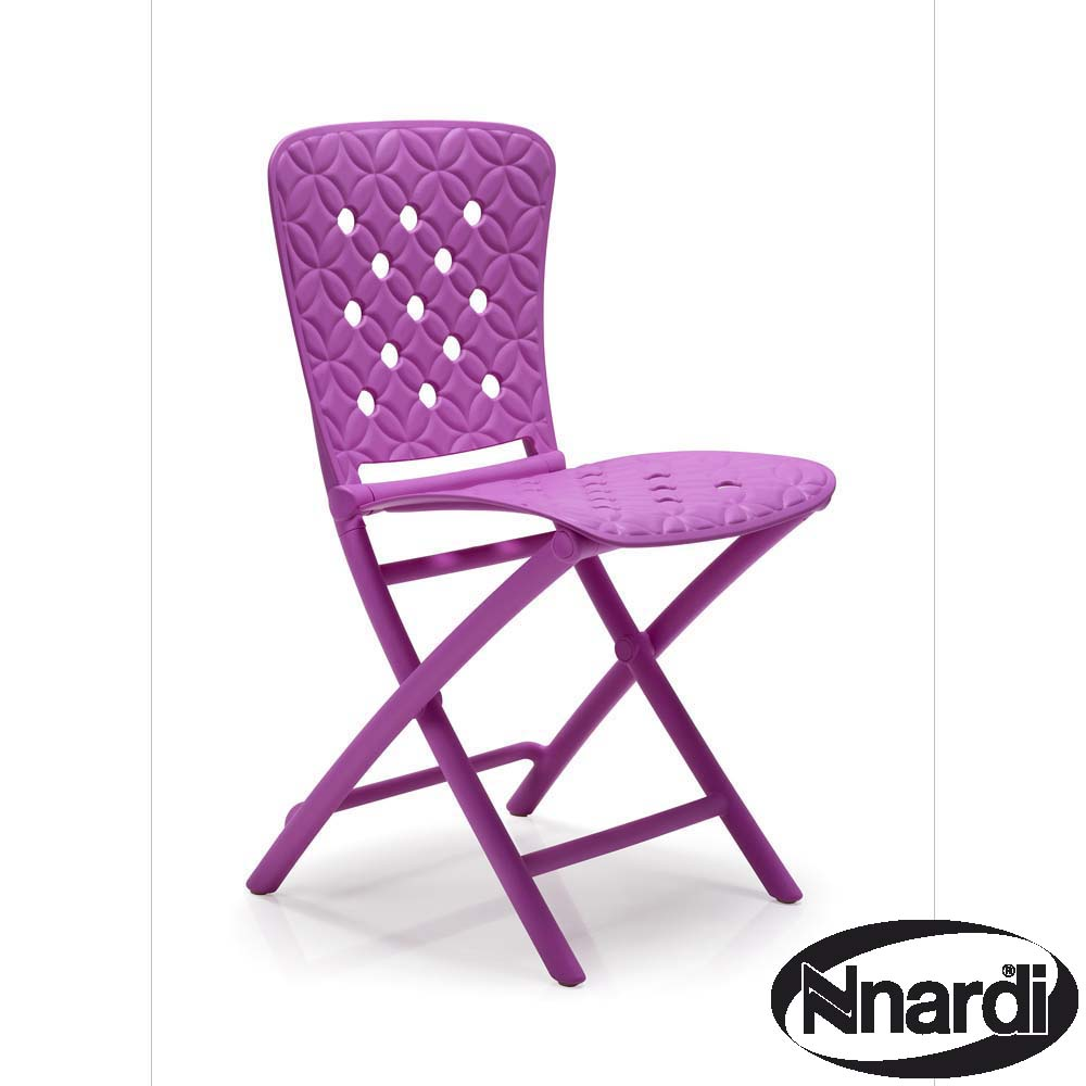 Zic Zac Chair Purple  sc 1 st  GreenFern Garden Furniture & Zic Zac folding Chair in Purple with
