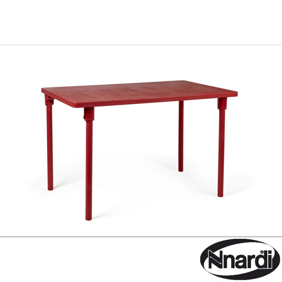Zic Zac Table Red