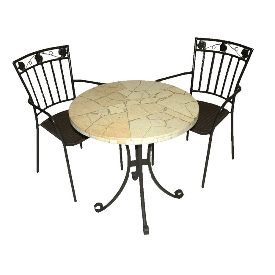 Lucerne table with Pineda chairs