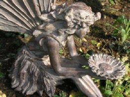 Sitting Fairy detail