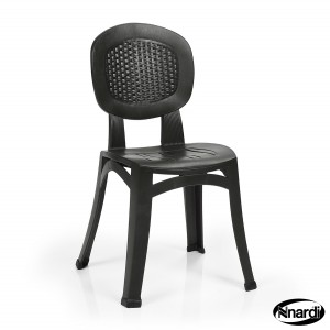 Elba chair in Anthracite