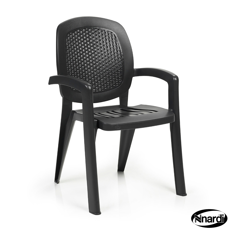 Creta chair in Anthracite