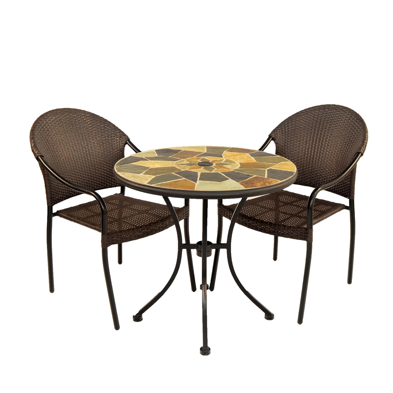 Pompeitable with San Tropez chairs