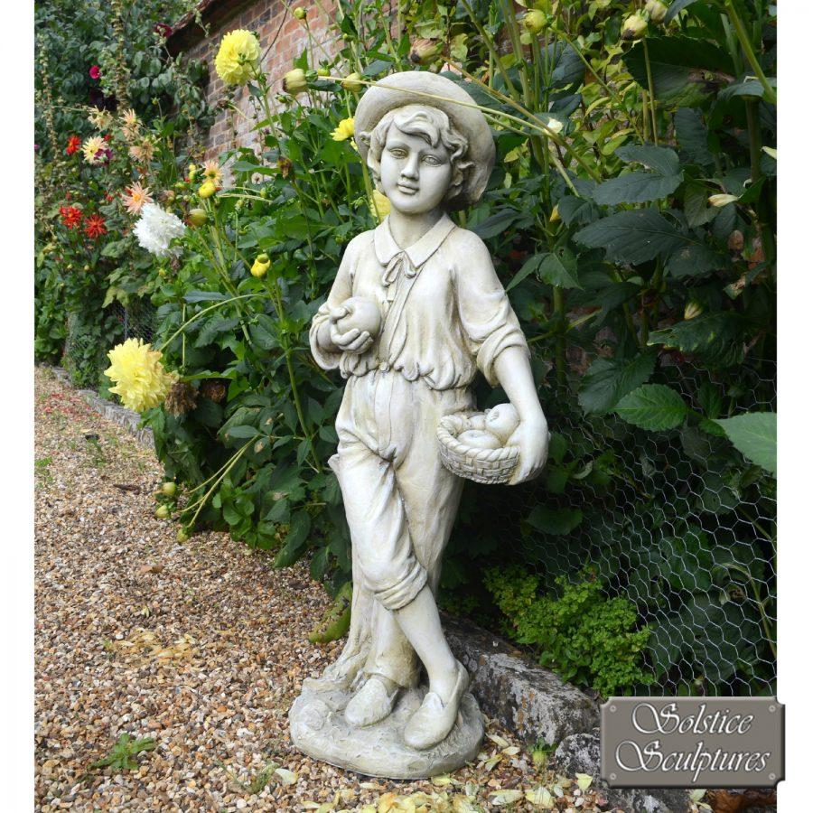 Edward Garden Statue