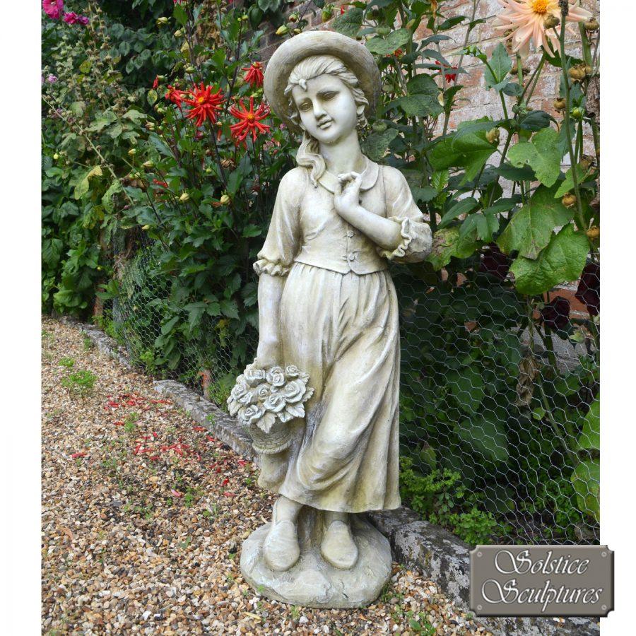 Emily garden statue