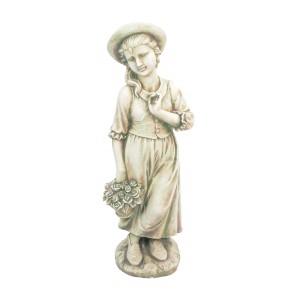 Emily flower girl statue