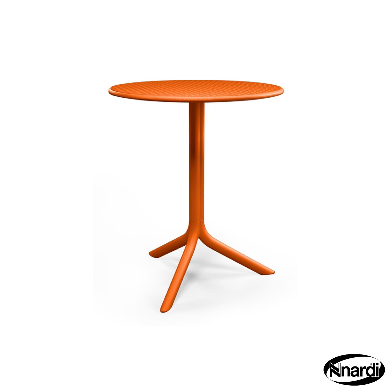 Step Bistro table in Orange