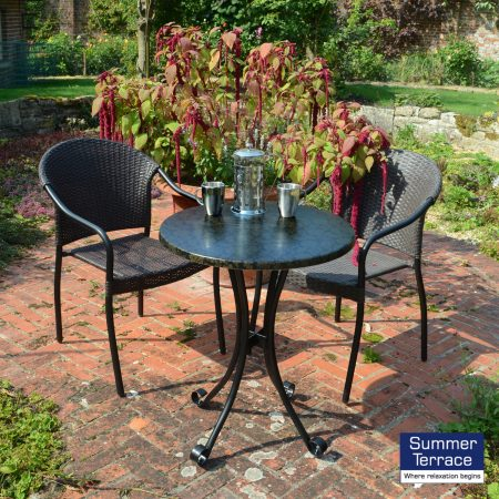 Fleuretta Bistro Set with San Tropez chairs
