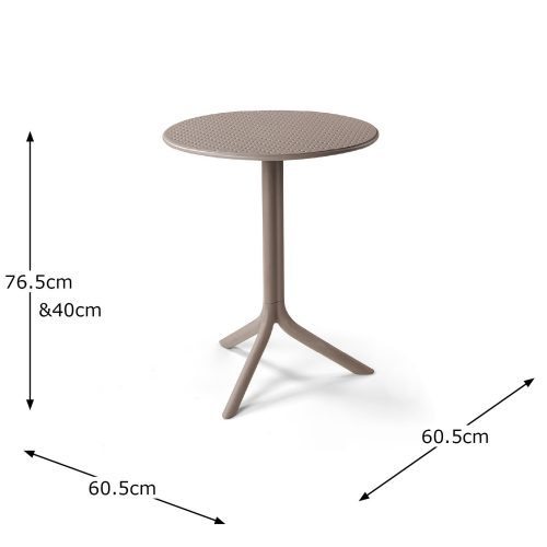 STEP TABLE TURTLE DOVE DIMENSION MS1