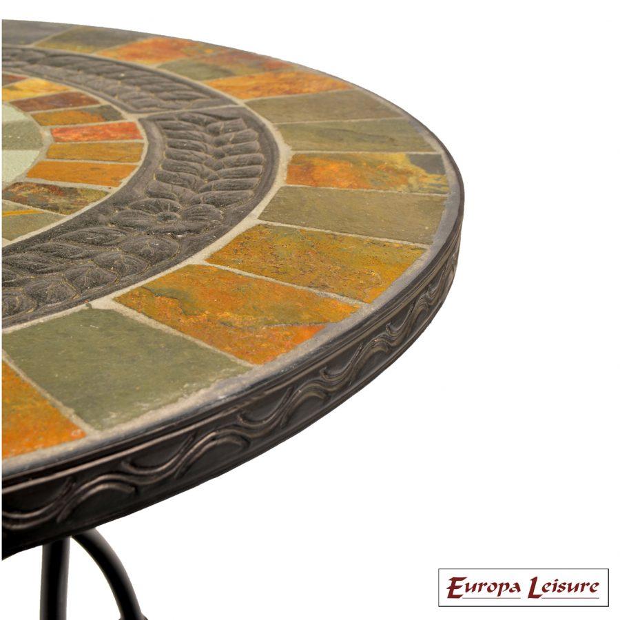 Alcira table close up